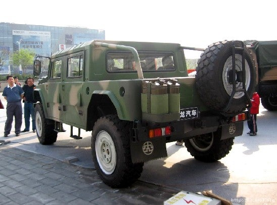 Xiao Long Auto 2060L Gives China Another Hummer
