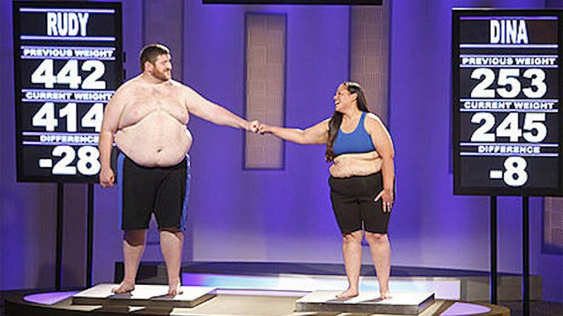 The Biggest Loser Won't Show Fat People Kissing