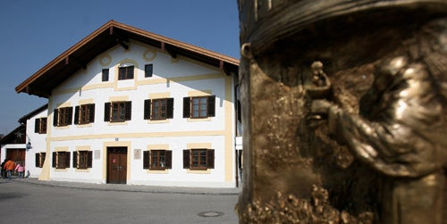 Pope's Old House Tagged with 'Obscene Graffiti'