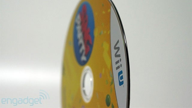 The Wii U's Game Discs Have a Soft, Rounded Edge