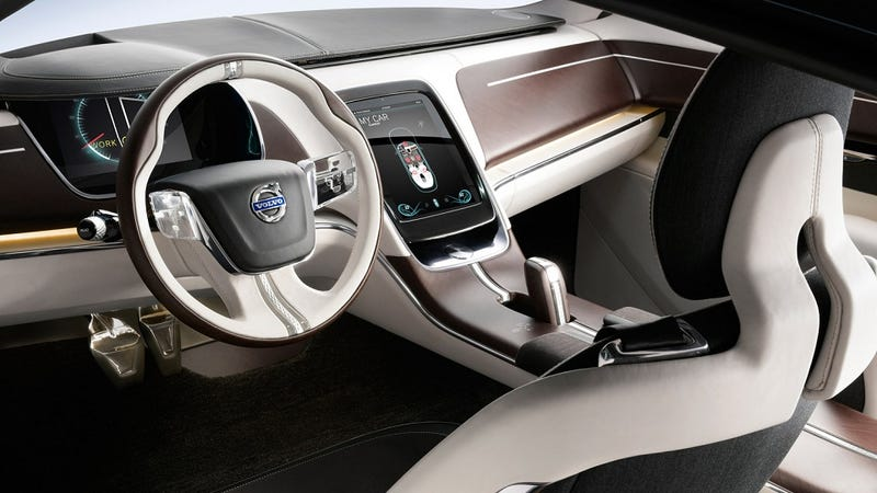 Volvo's Newest Concept Car Just Wants to Be Touched (Updated)