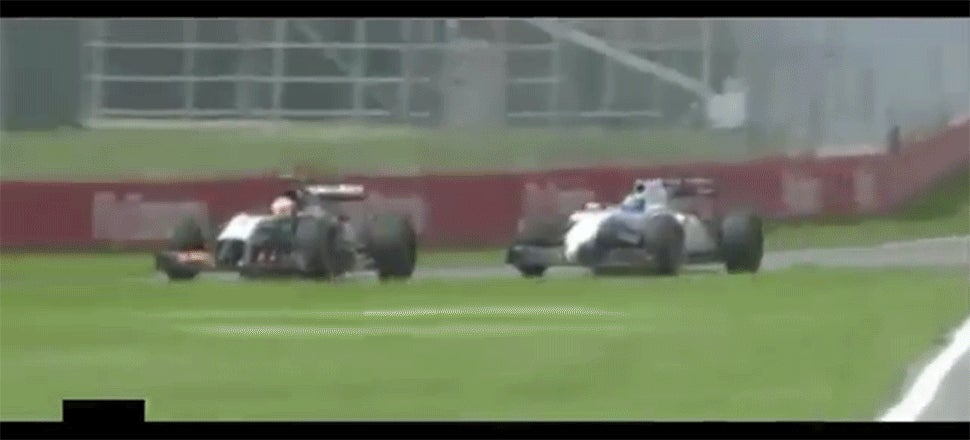 Felipe Massa's Huge Crash Made A Spectacular End To The Race In Canada