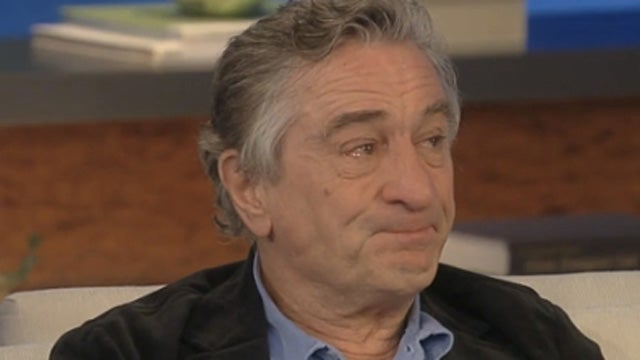 In a Rare Display of Emotion, Robert DeNiro Gets Choked Up Talking About Parenting