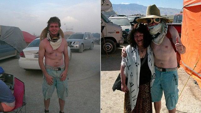 Looks Like Amanda Knox's Italian Ex Raffaele Sollecito Had a Good Time at Burning Man