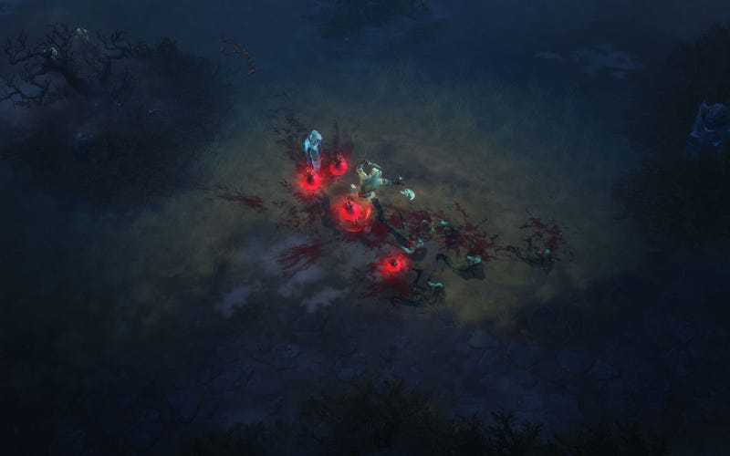 Diablo III GamesCom Screens Stab Some Skeletons Right In The Face