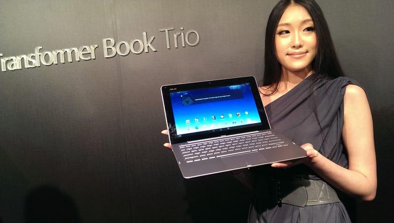 Transformer Book Trio: un tres en uno con Android y Windows a la vez