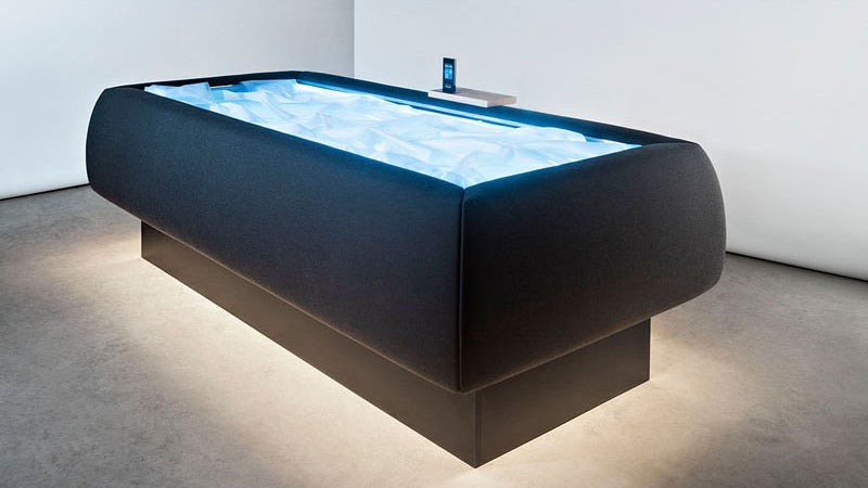 A Redesigned Waterbed Makes You Feel Like You Re Floating