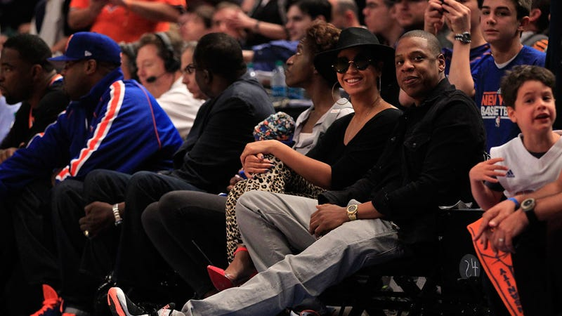 Beyonce Goes Incognito, But Jay-Z Lets It All Hang Out