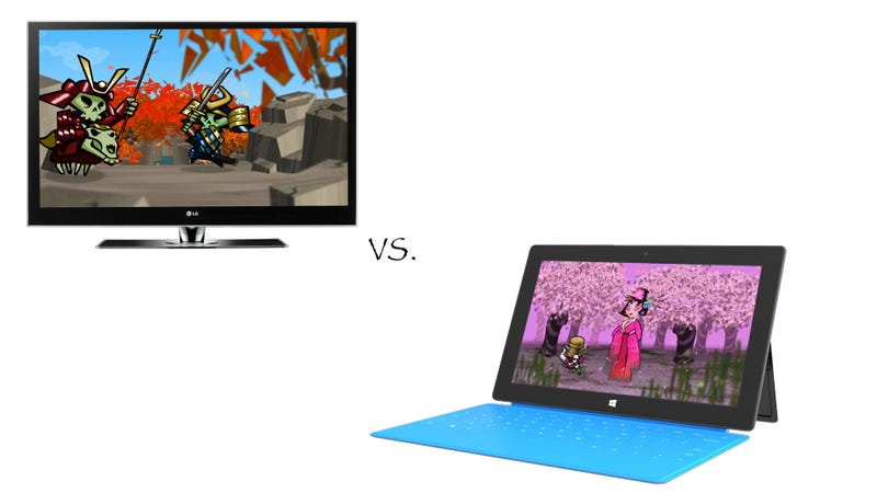 The Xbox 360 and Surface Tablet Fight Each Other, Thanks to Skulls of the Shogun