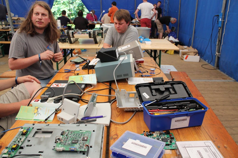 Live As If You Are Already In The Future At Hacker Camp