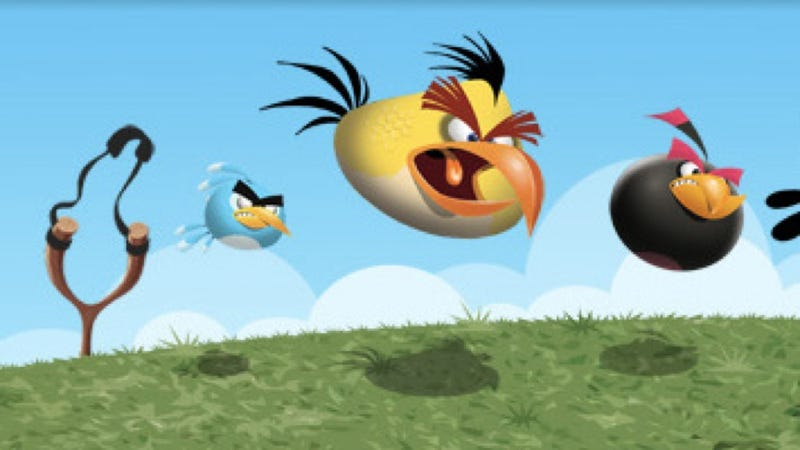 Angry Birds Tournament Held 32,000 Feet In the Air