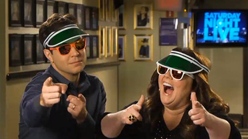 Melissa McCarthy Advocates for Cool Guys in Visors in Her Newest SNL Promo
