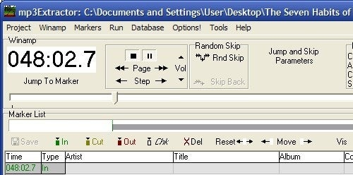 MP3Extractor Flags and Separates Large MP3 Files