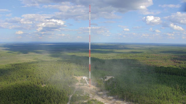 A 1000-Foot Tower Is Being Built in the Amazon to Track Climate Change
