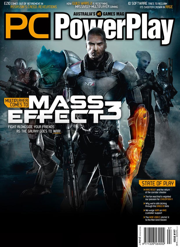 Mass Effect 3 Has Multiplayer, Says PC Gaming Magazine