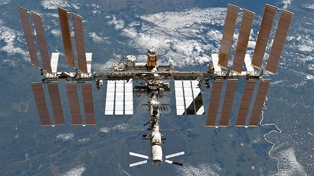 You Might Be Able to See the ISS in the Sky This Week