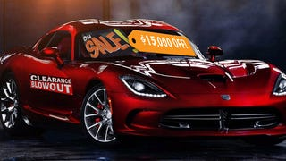 Dodge Viper Discounted By $15,000 Because Nobody Is Buying Them
