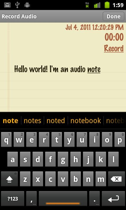 Classic Notes+App Box App Gallery