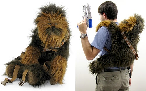 Chewbacca Backpack, Cuddly Without Smelly