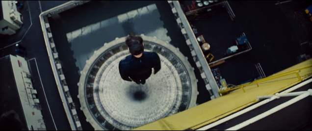 Mission Impossible 5's underwater storage
