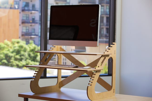 Choose an on desk attachment for affordable and adjustable comfort