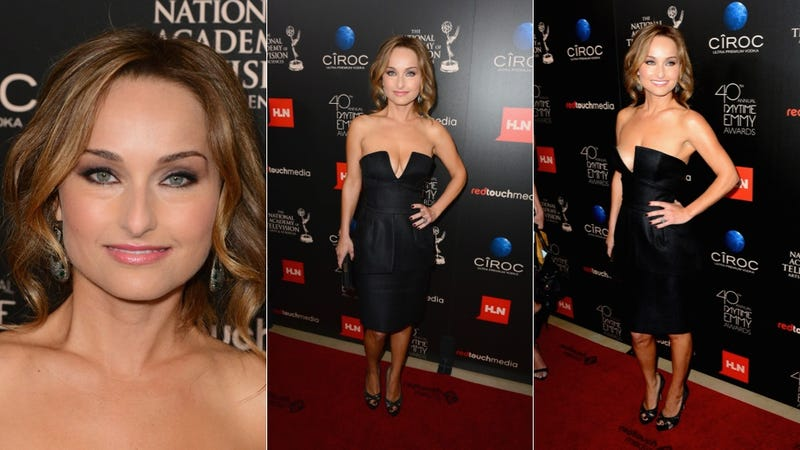 Flashy Fashion and Serious Cleavage at the Daytime Emmys