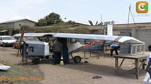 Meet the Kenyan Who Built an Airplane in His Backyard