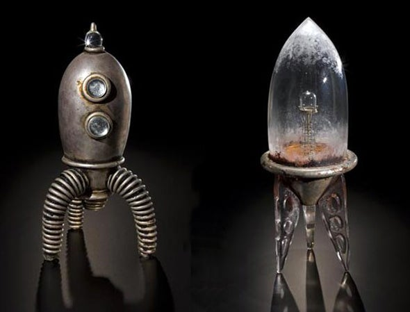 Blown Glass Spaceships Scatter Seeds to the Stars