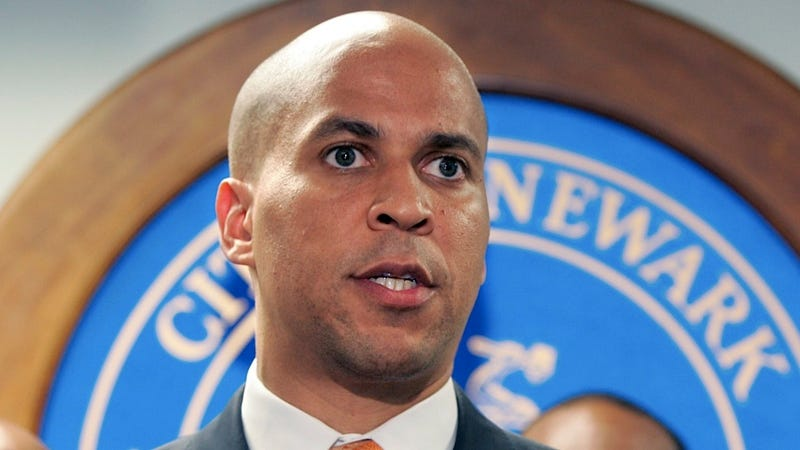 Super Mayor Cory Booker Wonders Aloud Whether He'll Run for Governor or the Senate