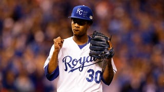 Yordano Ventura Doesn't Seem Too Sad About Losing The World Series