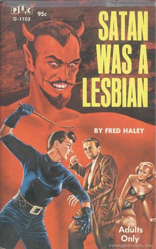 Is this the greatest pulp novel title in human history?