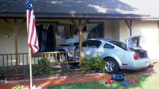 Florida Man Mistakes Neighbor Crashing Car Through His House For An Earthquake