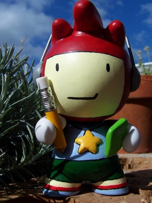 Scribblenauts Figure Only Needs One Word: Aaawwww