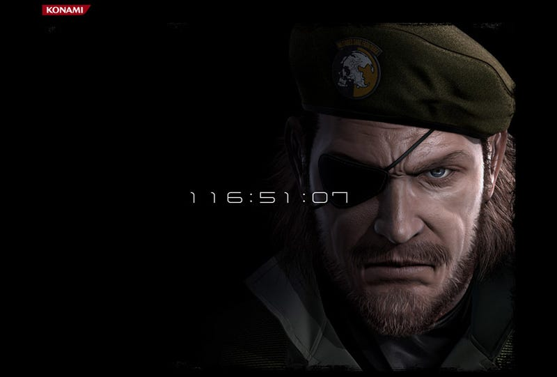 Kojima Productions Updates Site With... Big Boss?