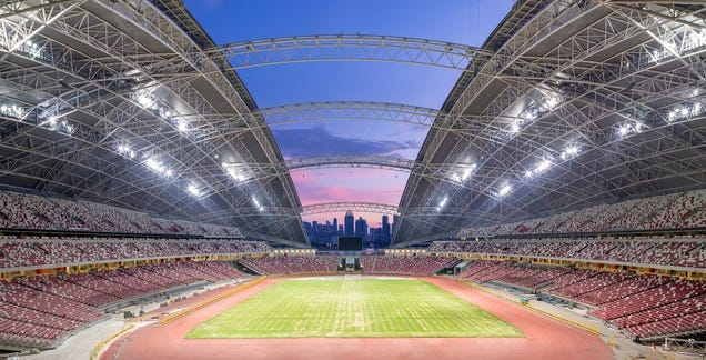 This Awe-Inspiring Stadium Is Now the Biggest Dome In the World