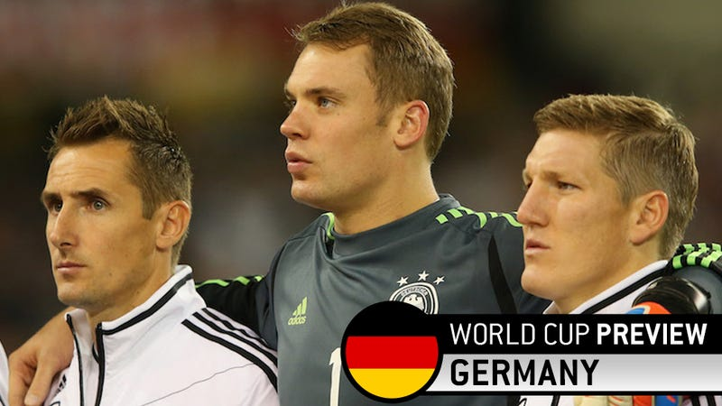 Germany, Now Ravaged By Injuries, Should Still Walk The Group Of Death