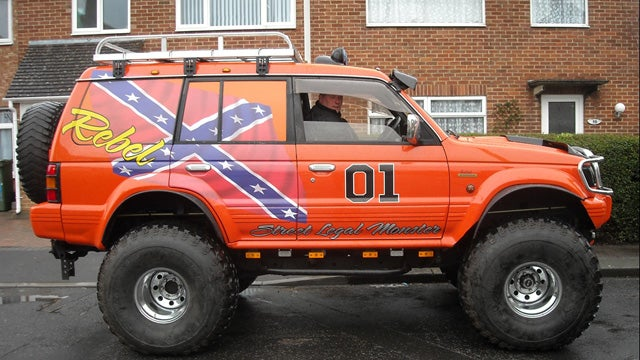 The most redneck car in all of Britain