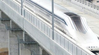 This Japanese Mag Lev Train Just Went A World Record 374 MPH