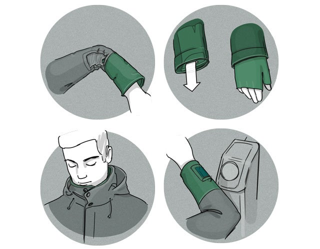 Clever New Clothes To Protect You From Germs On The Subway