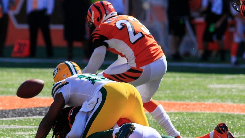 Hear A Bengals Announcer Lose His Mind Over The Go-Ahead Fumble Return
