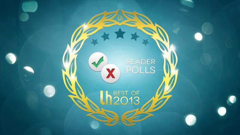 Most Popular Reader Polls of 2013