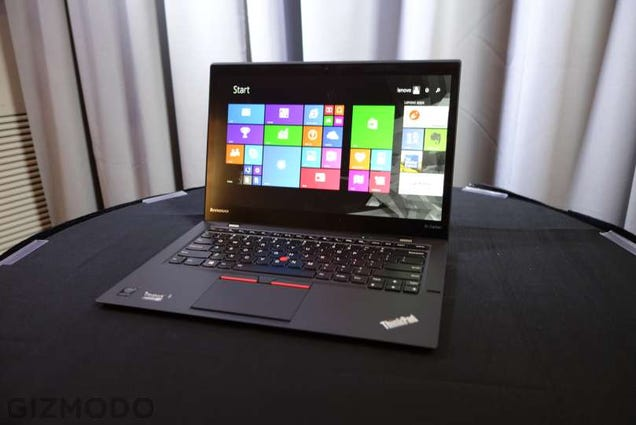 The Thinkpad X1 Carbon Is Getting Its Buttons Back