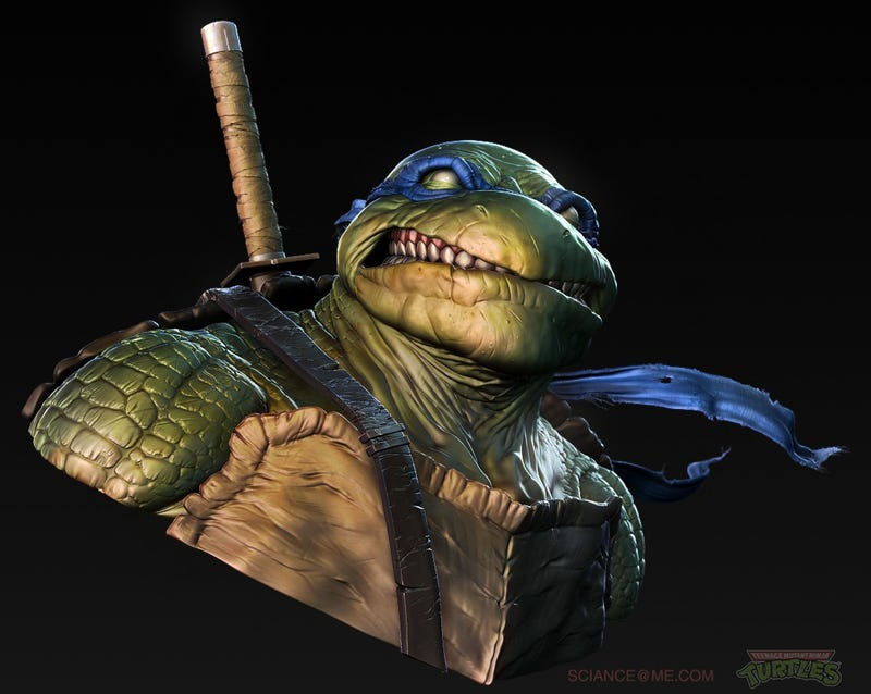 The Realest Ninja Turtle You'll Ever See