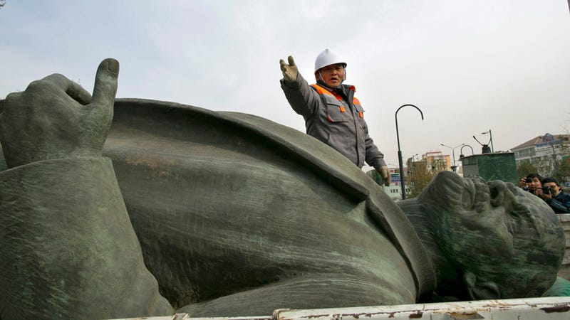 The Mongolian Capital's Last Lenin Statue Would Make a Great Conversation Piece for Your Apartment