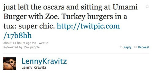 Celebs Tweet About The Oscars