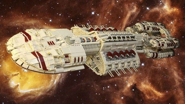 You Won't Believe How HUGE This Battlestar Galactica Model Is