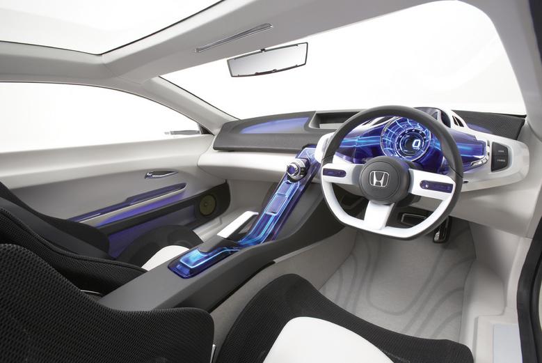 Honda CR-Z Hybrid Concept Car Too Awesome to Be a Honda