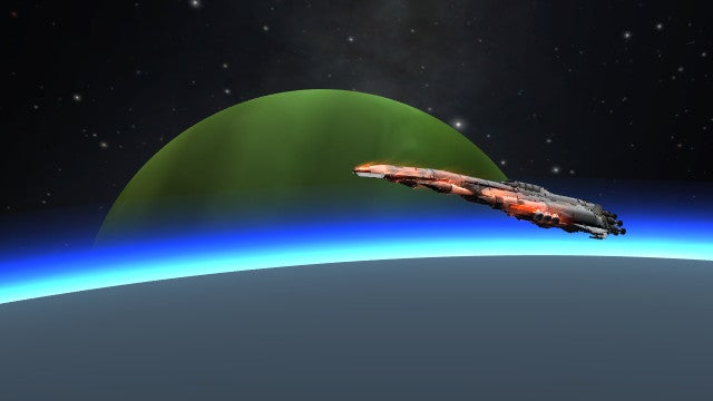 Upgraded Kerbal Battleship Goes on a Tour Across the Solar System
