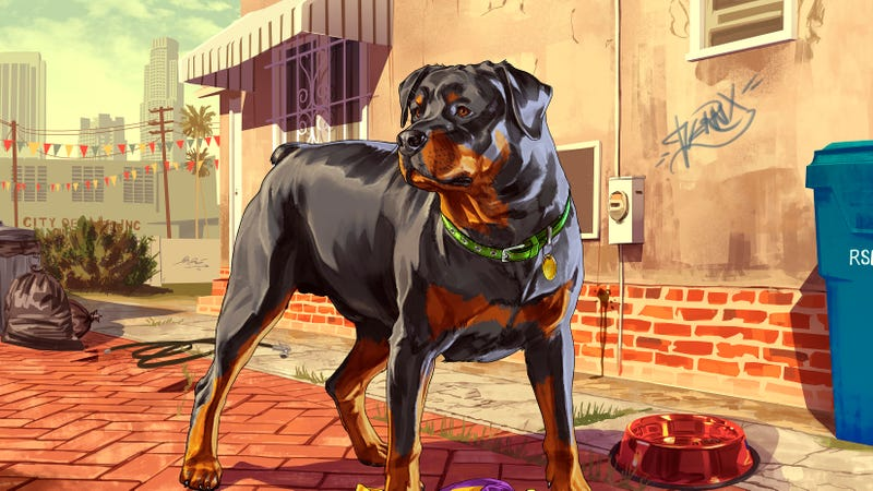 Grand Theft Auto V's iPhone App Is Like a Gangsta Nintendogs