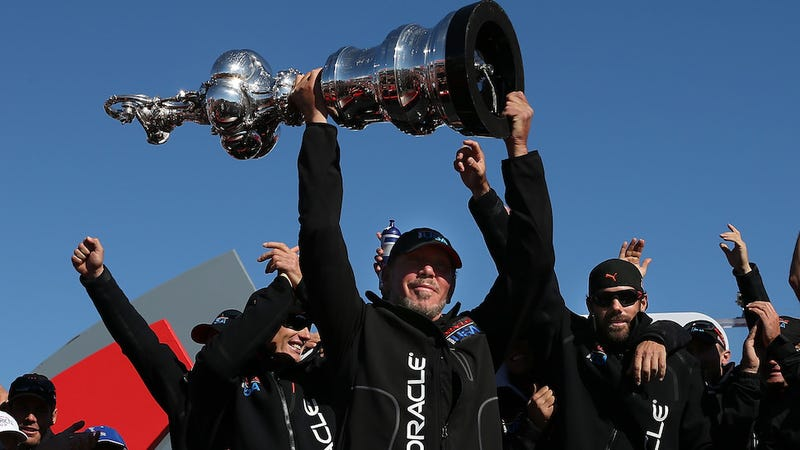 Larry Ellison's Billionaire Yacht Race Cost San Francisco $5.5 Million